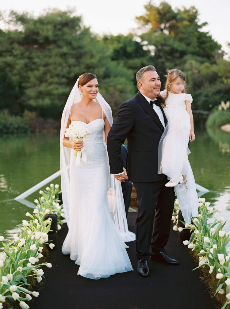 Antonis Remos and Yvonne Bosnjak wedding in Athens
