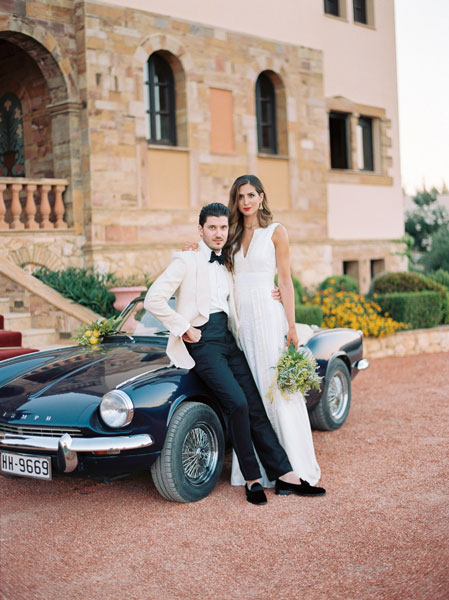 Elegant wedding destination and film wedding photography in Athens Greece