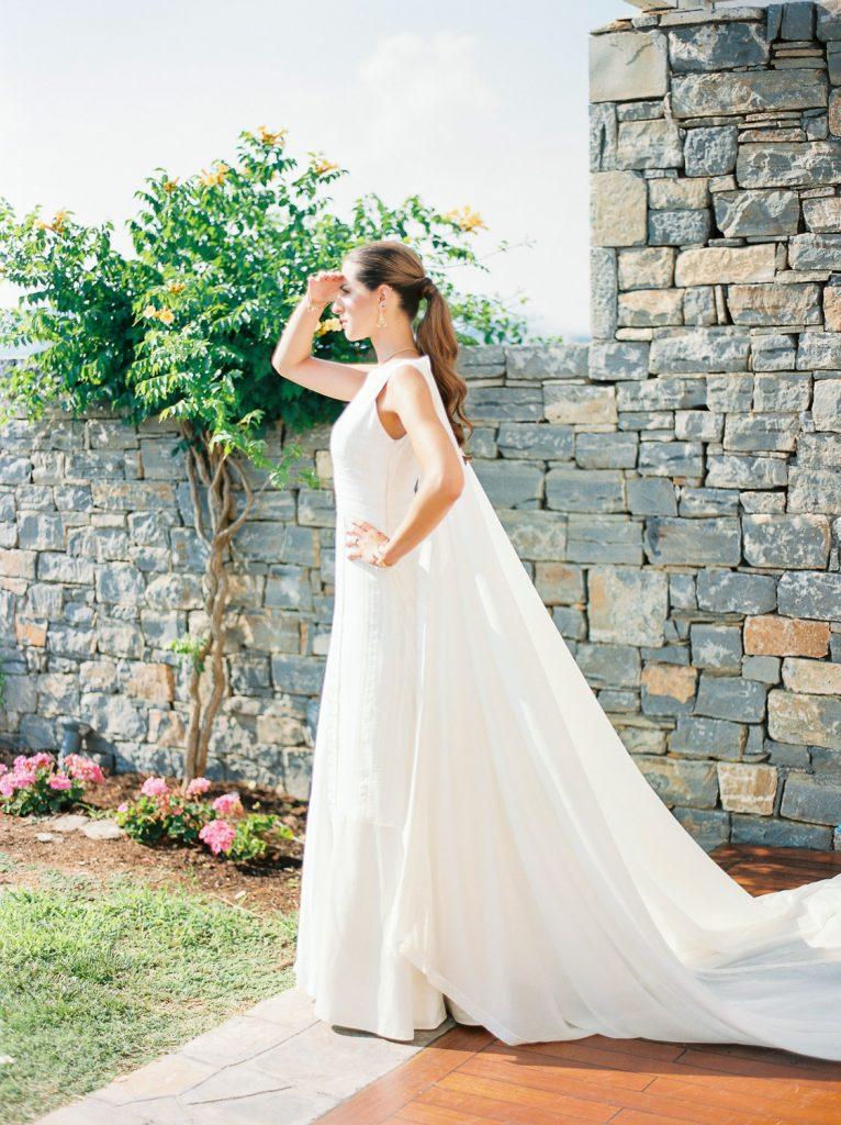 Elegant wedding destination and film wedding photography in Athens Greece