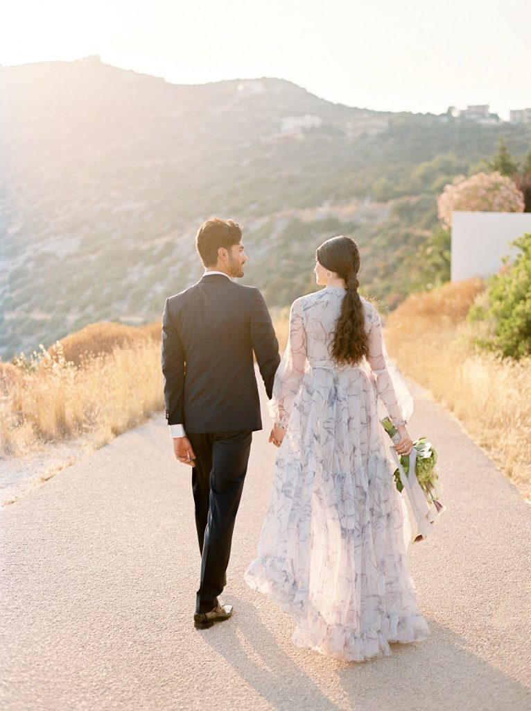 Wedding film photography inspiration in the Athenian Riviera Greece