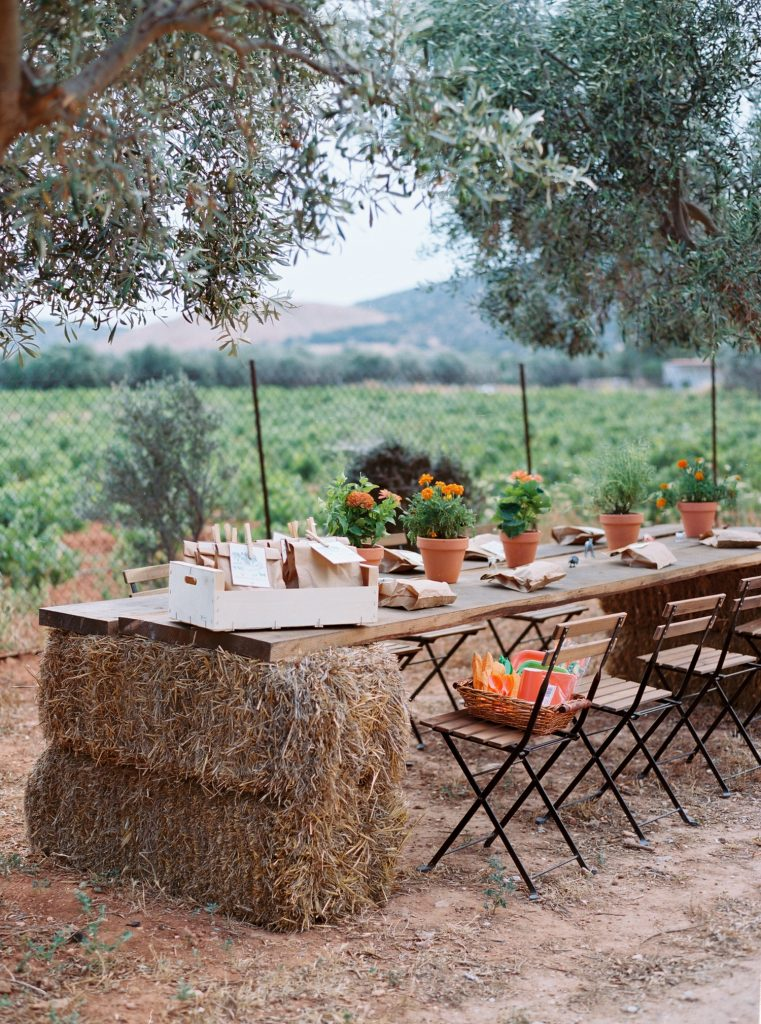 Elegant baptism and christening in the Margi Farm Athens Greece