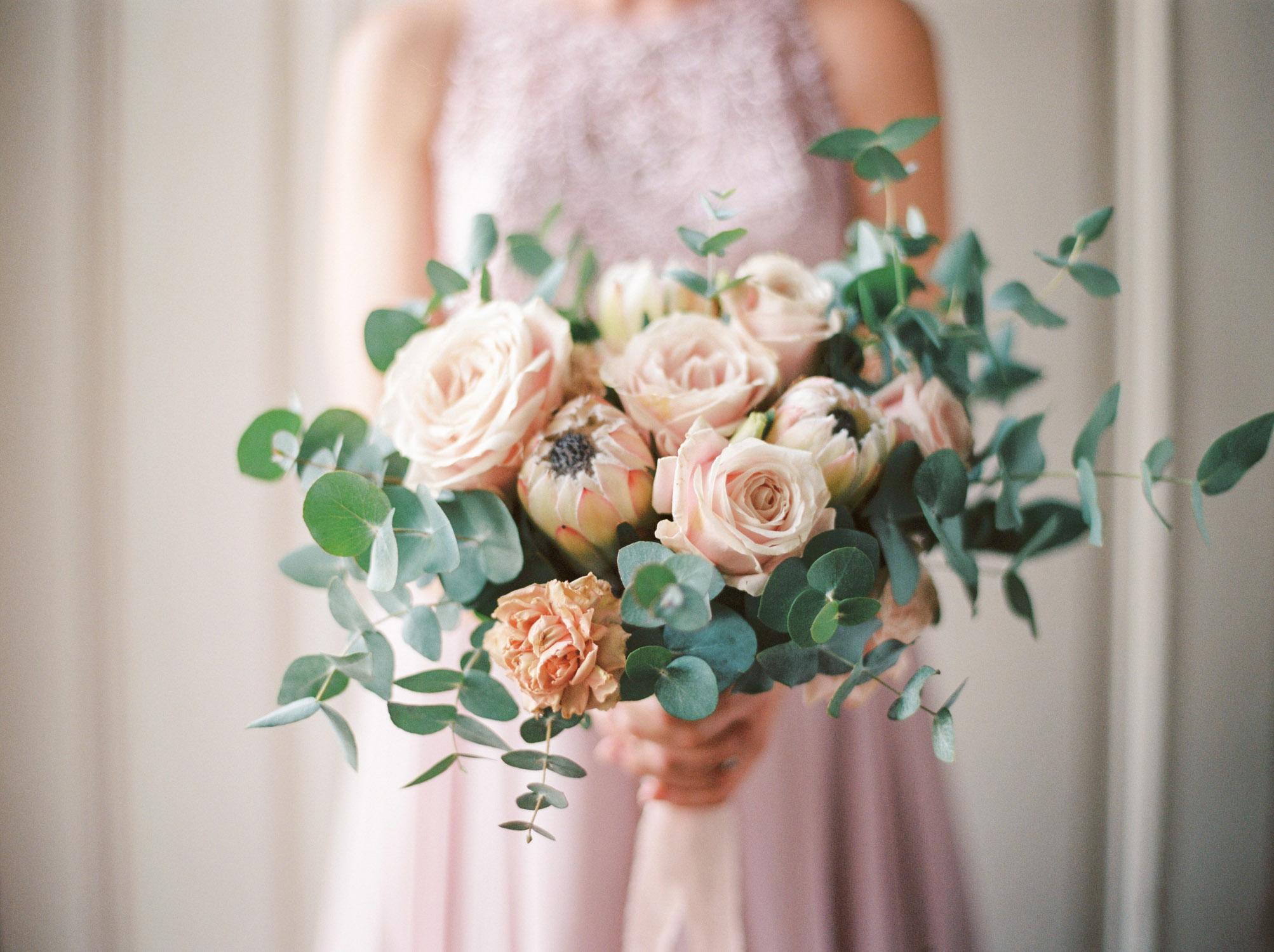 flower bouquet from a wedding destination in Austria