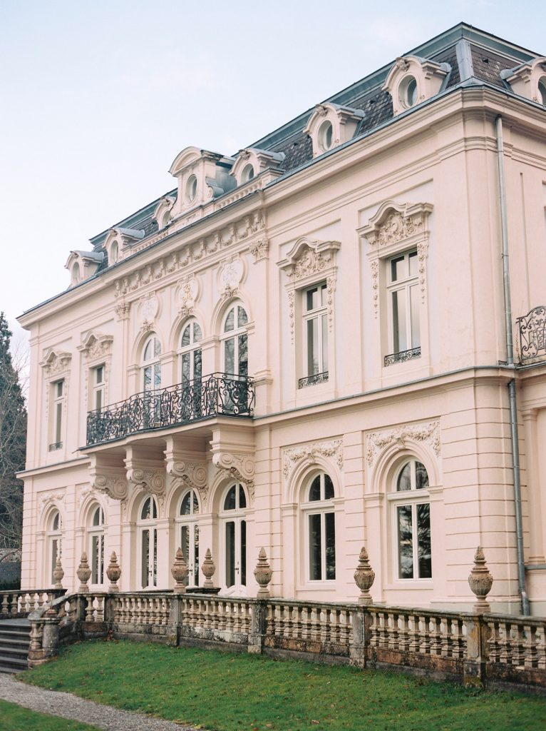 Austrian palace for an intimate destination wedding